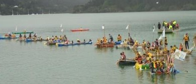 The Great Whangaroa Kiwi Can Raft Race