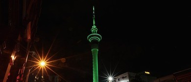 The Greening of Auckland 2020 - Sky Tower