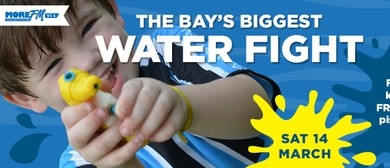 The Bay's Biggest Water Fight