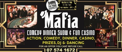 'Mafia Casino' - Comedy Dinner Show, Quiz & Fun Casino