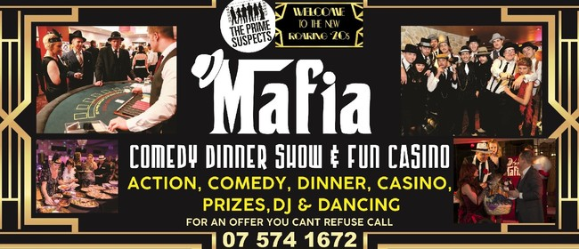 'Mafia Casino' - Comedy Dinner Show, Quiz & Fun Casino: CANCELLED