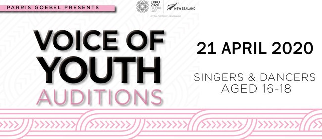 Parris Goebel: Voice of Youth Auditions