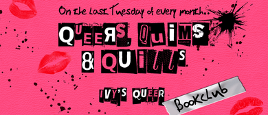 Queers, Quims & Quills - Ivy's Queer Bookclub