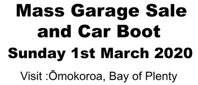 Omokoroa Mass Garage Sale and Car Boot