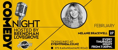 Comedy Night at Anthology - Melanie Bracewell