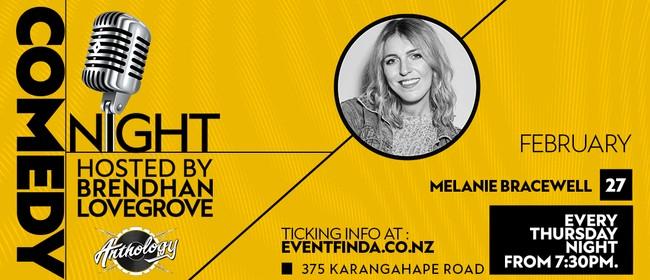 Comedy Night at Anthology - Melanie Bracewell