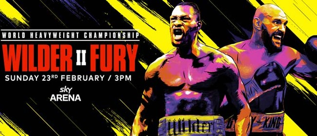 Wilder v Fury 2