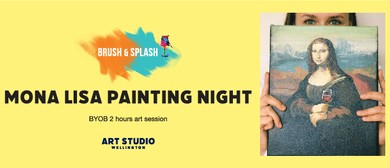Mona Lisa Painting Night