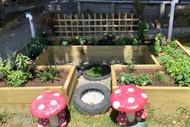 Kauri Park Kindergarten's Sensory Garden Opening