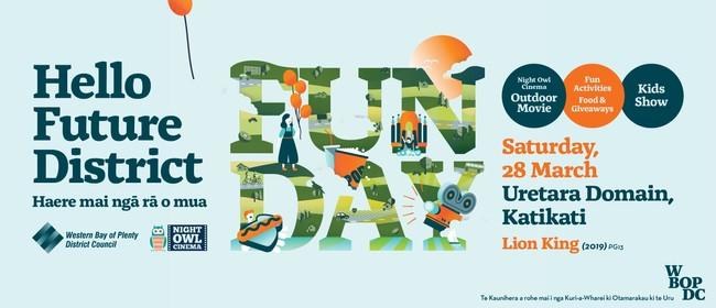 Hello Future District Fun Day: CANCELLED