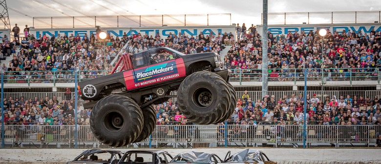 Monster Trucks And Fmx Spectacular Auckland Eventfinda