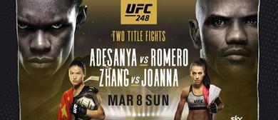 UFC & 248 Adesanya vs Romero & Zhang vs Joanna