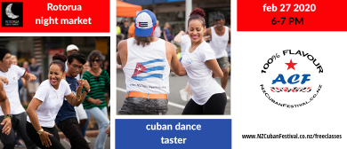 Cuban Dance Taster - Rotorua Night Market