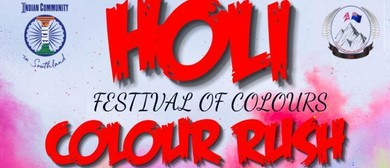 Holi – Festival of Colours – Can Say Colour Rush Too