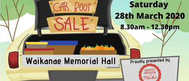 Kapiti Indoor Market - Monster Car Boot Sale