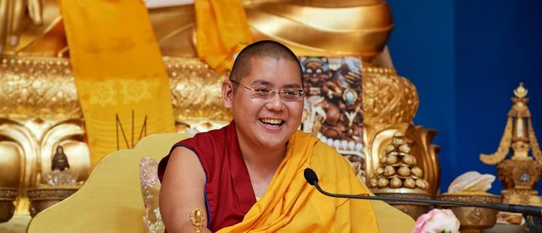 First NZ Tour H. E. Ling Rinpoche
