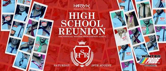 """Opening Party """"High School Reunion"""", by Harry K: CANCELLED"""