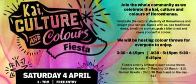 Kai, Culture and Colours Fiesta