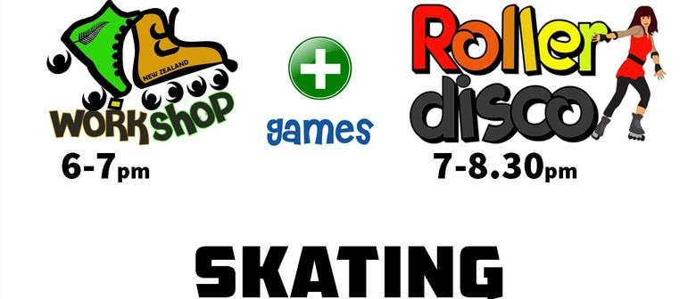 Roller Disco & Skate Workshop Games