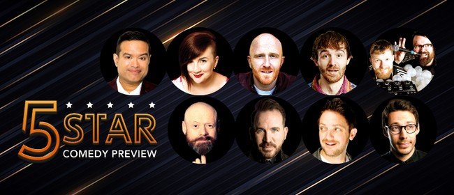 The 5 Star Comedy Preview 2020: CANCELLED