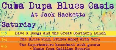 CubaDupa Blues Oasis: CANCELLED