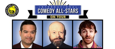 International Comedy All-Stars - On Tour: CANCELLED