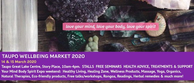 Taupo Wellbeing Market 2020
