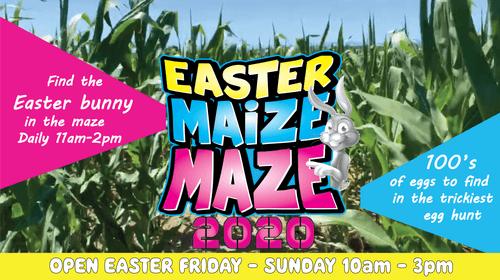 Easter Maize Maze Egg Hunt: CANCELLED