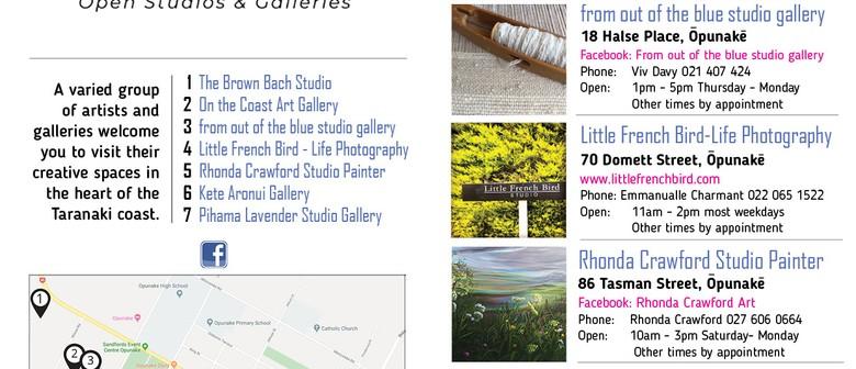 Opunake Open Studios & Galleries Open Days 2020