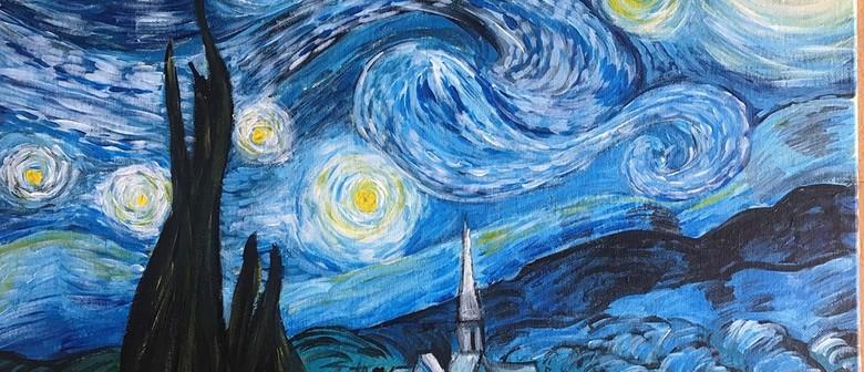 Paint & Chill Night - Starry Night - Van Gogh inspired
