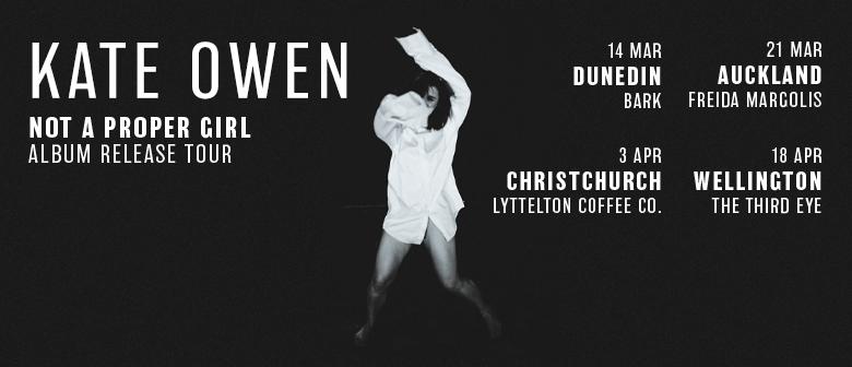 Kate Owen Album Release - Not A Proper Girl: CANCELLED
