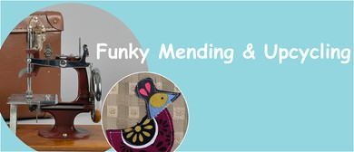 Funky Mending and Upcycling Workshop with Gracie Matthews