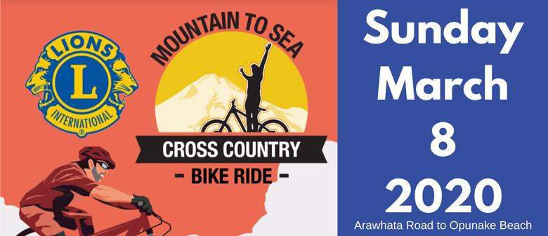 Opunake Lions Mountain to Sea Cross Country Bike Ride