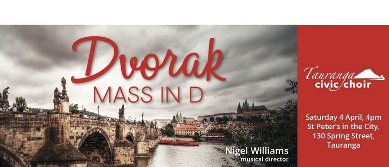Dvorák Mass in D: POSTPONED