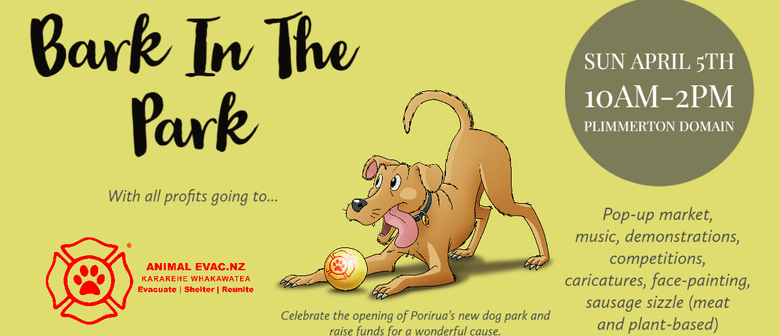 Bark In The Park: POSTPONED