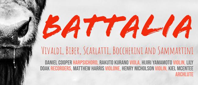 Seasoning Ensemble: Battalia, a battle of the greats!: CANCELLED