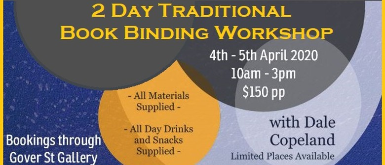 2-Day Traditional Book Binding Workshop