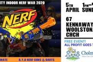 Charity Indoor Nerf War 2020