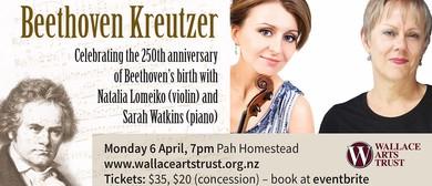 Beethoven Kreutzer with Sarah Watkins (Piano) & Natalia Lo