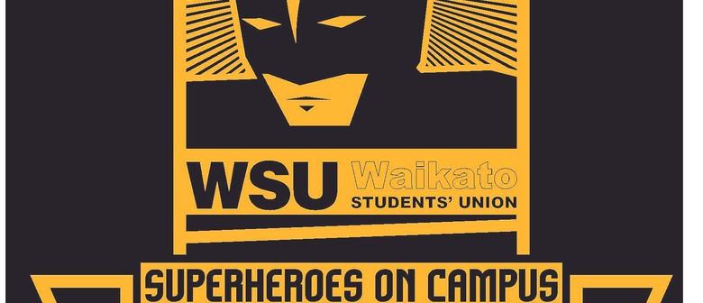 WSU O'Week 2011 - Superheroes on Campus