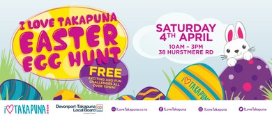 I Love Takapuna Easter Egg Hunt
