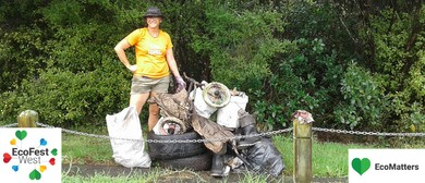 Manutewhau Awa (Stream) Clean Up - EcoFest West: CANCELLED
