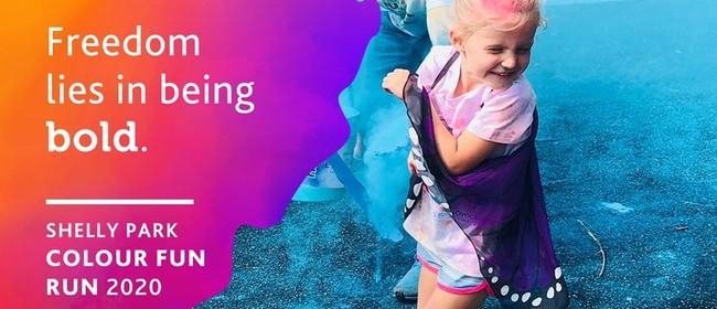 Eyes of Howick Shelly Park Colour Fun Run 2020