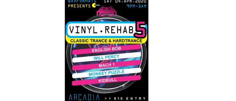 Vinyl Rehab 5 Trance Hardtrance Classics