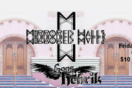 Mirrored Walls and Sons of Henrik: POSTPONED