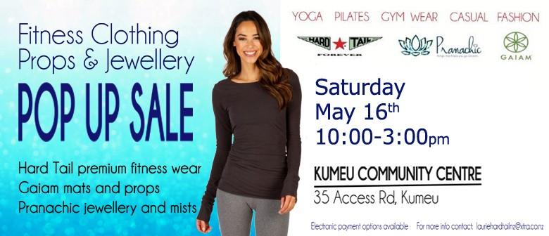 Kumeu Women's Fitnesswear, Props and Jewellery Pop Up Sale: POSTPONED