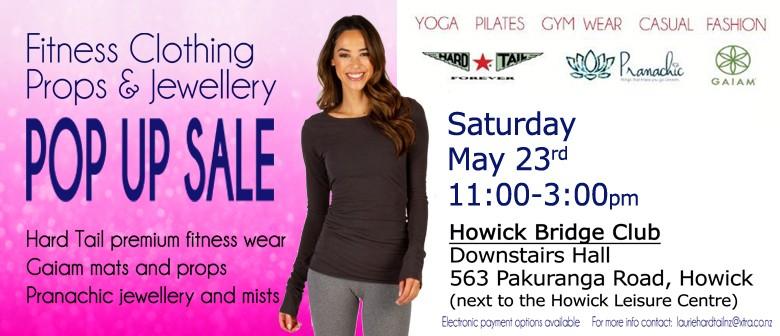 Howick Women's Fitnesswear and Jewellery Pop Up Sale: POSTPONED