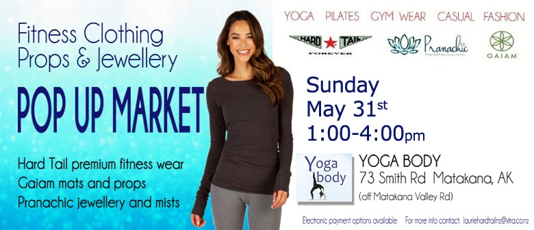 Matakana Women's Fitnesswear and Jewellery Pop Up Market: POSTPONED