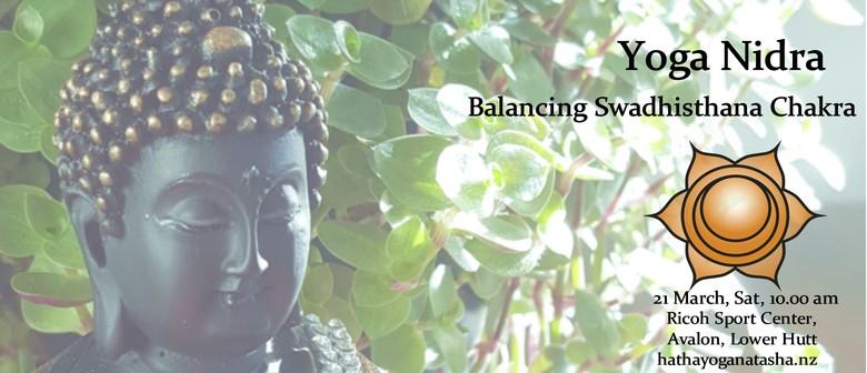 Yoga Nidra on Swadhisthana Chakra