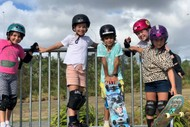 Girls Skate NZ Skateboarding Workshop- Te Pai Skatepark